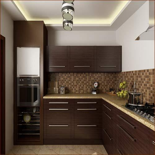 Mobile Home Kitchen Cabinets: Wooden Indian Kitchen Cabinet, Rs 20000 /unit, Krishna PVC