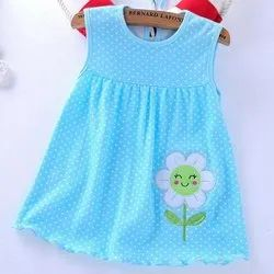 Party Wear Printed Baby Dress