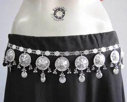 Belt Wedding Dress Sash Coin Festival Daance Jewelry