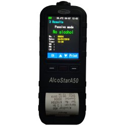 Mangal AlcoStar A50 Inbuilt Printer Breath Analyser