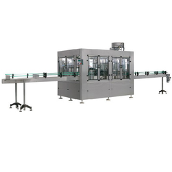 80 BPM Automatic Bottle Rinsing Filling And Capping Machine