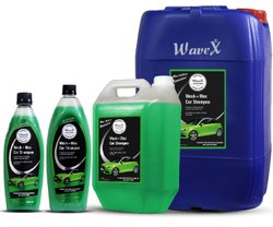 Green Wavex Wash and Wax Car Shampoo, Pack Size: 1-20L