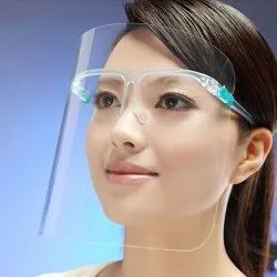 Plastic Glasses Frame Anti-Oil Grease Proof Splash Mask For Housewife-Anti_oil_splash_mask