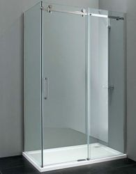 Glass shower partition work