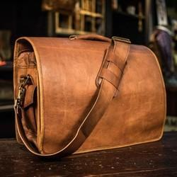 Handmade Leather Laptop Bags