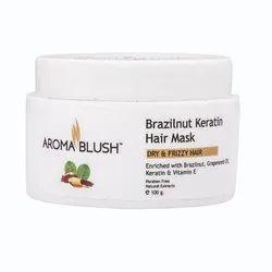 Brazil Nut Keratin Hair Mask, Paste, Pack Size: 100gms