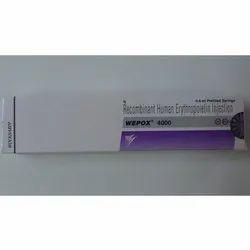 wepox erythropoietin 4000 inj