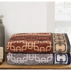 Terry Jacquard Towel