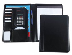 Conference Folder With Calculator Holder