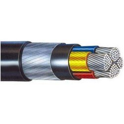Aluminium Armoured Cable With Size: 4 Sq M - 400 Sq M And Voltage : 1100 V