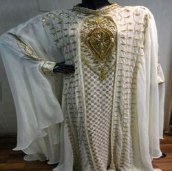 Embroidery Muslim Ladies Long Dress Abaya