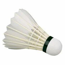White Badminton Shuttle Cock, Pack Size: 6 Piece