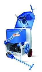 Pan Type Concrete Mixer Machine
