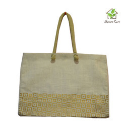 Jute Tesco Style Fashion Bag