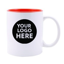 Logo Printed Inside Color Mug