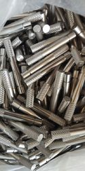 M.S., S.S. Knurling Pin