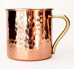 Hammered Copper Moscow Mule Mugs NJO-6420