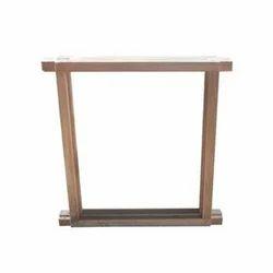 Rectangular Teak Wood Door Frame, For Home, Dimension/Size: 7x3 Feet