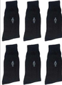 Gokul GS05 Black Men Socks