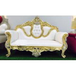 White Wedding Couch