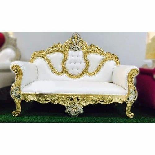 White Wedding Couch