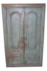 Antique Wooden Window With Mirror, Size/Dimension: 104*10*172