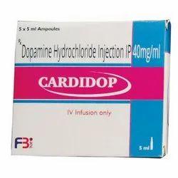 Dopamine Hydrochloride Injection IP 40 Mg/Ml