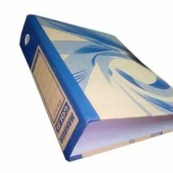 Clip Cardboard Office Box File, Packaging Type: Packet