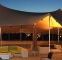 Orange Bedouin Stretch Tents