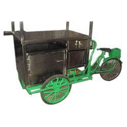 Hot Food Vending Rickshaw Cart