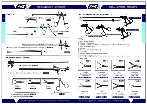 Laparoscopy Equipments & Mayfield Head Clamp Manufacturer from Chennai