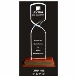 JMP 406 Award Trophy