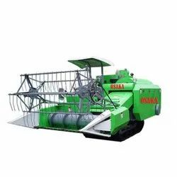 Full Feed Mini Agriculture Combine Harvester