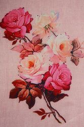 Paper Silk Digital Printed Fabric