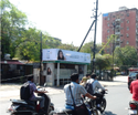 Bus Stop Advertising Board