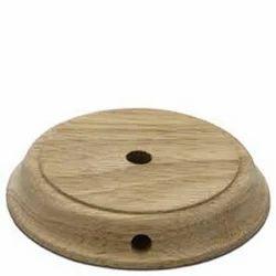 Khan handicraft Medium Wood Lamp Bases