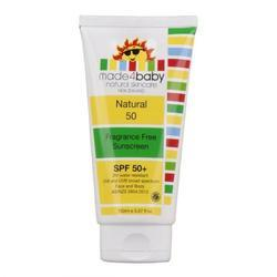 Natural Sunscreen SPF 50 Plus Fragrance for Babies