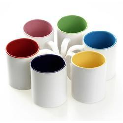 Mugs Inner Colour, Size: 11 Oz, for Office