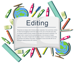 Proofreading editor services