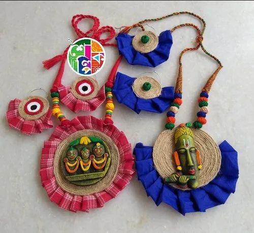 Female Mainly. Jute Jewellery, Rs 150 /piece Shailpik Jewellery | ID: 21737544412