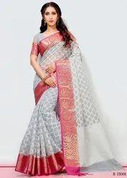 Aura Saree Launch Mira Tissu Brasso Saree Festive Collection