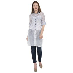 915f5508aab6 Half Sleeves Ladies Long Tunic Top