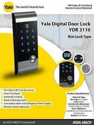 Hafele Yale Wireless Biometric Lock, Grey