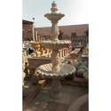 Rb Marble And Granite Brown Fountain For Garden Restorent