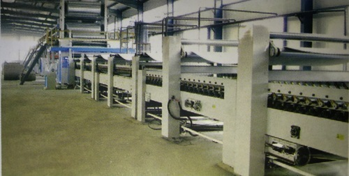 Old catagory Corrugations Machine - Fingerless Single Face Paper