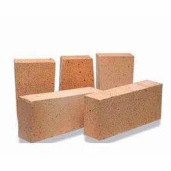 Buff Yellow Alumina Insulation Brick, For industrial furnace, Size: 230 x 115 x 75 mm