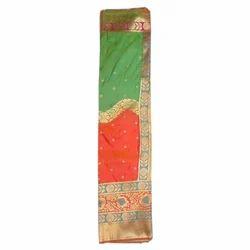Designer Ethnic Silk Sarees, Construction Type: Machine