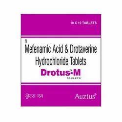 Drotaverine 80 mg &  Mefenamic Acid 250 mg