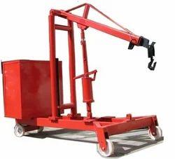 G Model Hydraulic Floor Cranes