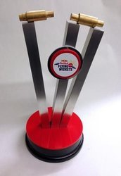 Cricket Event Acrylic Trophy